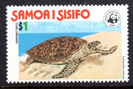 SAMOA - 1978 HAWKSBILL CONVERSATION $1 STAMP FINE MNH ** SG 507 - Samoa