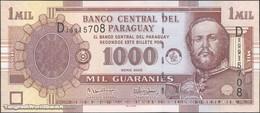 TWN - PARAGUAY 222b - 1000 1.000 Guaranies 2005 Prefix D UNC - Paraguay