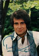 Photo Dédicacée De Peter Rubin, Schlager Sänger (chanteur) Carte Avec Discographie - Signed Photographs
