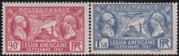 France    .  Y&T  .   244/245    .     *    .     Neuf Avec Charnière  .   /   .   Mint-hinged - Neufs
