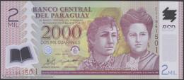 TWN - PARAGUAY 228c - 2000 2.000 Guaranies 2011 Polymer - Prefix C UNC - Paraguay