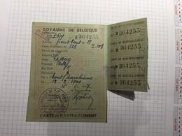 20BH - Carte Commune De Pry Ravitaillement 1947 - Autres