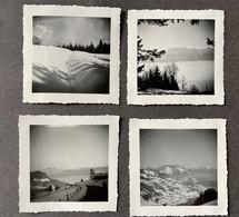 Pleiaden? VD Sicht Auf Berge Savoyer Alpen 1970/ 4 Photos - Plaatsen