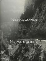 VILLARD De LANS 1928 Gorges De La Bourne Grande Photo 28 X 21 Cm  Isère Montagne Alpes - Plaatsen