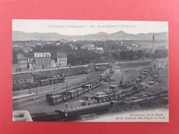 CPA 63 CLERMONT-FERRAND  INTERIEUR DE LA GARE - Clermont Ferrand