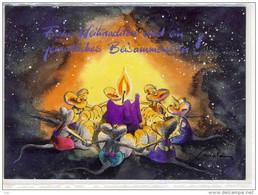 DIDDL - Weihnachtskarte,  Used 1999, Nice Stamp - Comicfiguren