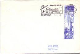 CARNAVAL FRANCE  PONTRIEUX  1990 COVER  (OTT200455) - Carnival