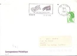 CARNAVAL FRANCE  VICHY   1988 COVER  (OTT200456) - Carnival