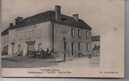 VAUMAS ( Allier )Etablissement  L. TALON  - Vins En Gros   Rare - Other Municipalities