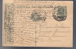 Cartolina Postale 15 Cent Pubblicitaria TUBI TOGNI Viaggiata 1920 C.2223 - Storia Postale