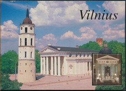 °°° GF1202 - LITHUANIA LIETUVA - VILNIUS - 1996 With Stamps °°° - Litauen
