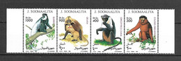 Somalia 1994 Animals - Monkeys MNH - Affen