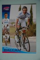 CYCLISME: CYCLISTE : ALESSANDRO BALLAN - Cyclisme