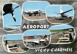 -cpsm -ref AA410- Allier -aeroports - Aerodromes -aviation -avions -aeroport Vichy Charmeil  - - Aérodromes