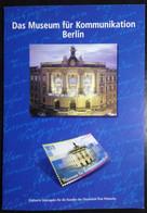 GERMANY,  Folder « MUSEUMS », Berlin, 2002 - Museos