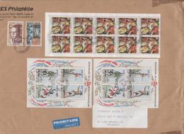 FRANCIA - France - 2011 - Albert Camus + 0,30 + Block Of 10 X Retable D'Issenheim, Croix-Rouge + 2 X BF10 Bicentenaire D - Francia