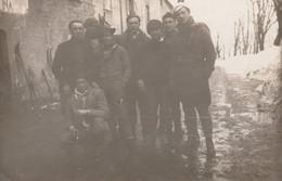 9670. Vintage Old  Photo Foto Gruppo Sciatori Sci Italia - Persone Anonimi