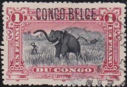 Belgisch Congo    .   OBP    .     36 L    .       O       .    Gebruikt   .   /   .  Oblitéré - 1894-1923 Mols: Gebraucht