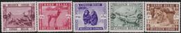 Belgisch Congo    .   OBP    .   209/213    .    *       .    Ongebruikt   .   /   .   Neuf Avec Charnière - 1923-44: Ungebraucht