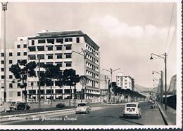 B3970 - Palermo, Via Francesco Crispi, Viaggiata 1957 F. G. - Palermo