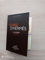 HERMES  - Echantillon - Campioncini Di Profumo (testers)