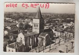 CPSM NERE (Charente Maritime) - En Avion Au-dessus De......L'Eglise - Altri Comuni