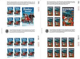 Denmark; Lions Club; Local Christmas Seals Randers 1988 And 1989. - Rotary, Lions Club