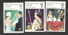 TURKS&CAICOS,,,,,1977: Michel364-6mnh** - Turks & Caicos (I. Turques Et Caïques)
