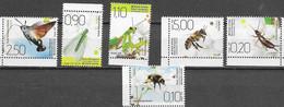 BOSNIA SERB, 2020, MNH, INSECTS, BUTTERFLIES, BEES, MOTHS, MANTIS, 6v - Butterflies