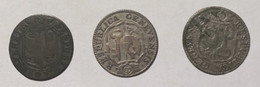 Suisse - GENEVE - 3 Sols 1793 - 1791 179. - HMZ 339 - - Zwitserland