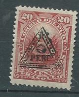 Pérou -    Yvert N° 23 * ( Surcharge Triangle Et Soleil ??? )  - Po 63318 - Peru
