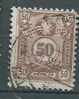 Pérou - Timbre Taxe    Yvert N° 52 Oblitéré   - Po 63320 - Peru