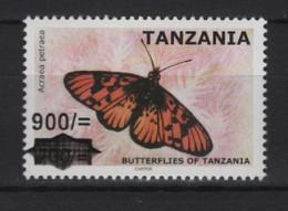 Tanzania (2020) - Set -  New Value Overprinted  /  Butterflies - Butterfly - Papillon - Mariposas - Vlinders - Mariposas