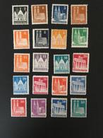 ALLEMAGNE BIZONE - 1948 - YT 41 à 64 (24 Valeurs) - Neuf Sans Charnière ** - Cote 130E - Bizone