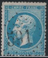 EMPIRE - N°22 - OBLITERATION - GC591 - BOYELLES - PAS DE CALAIS - COTE GC 38€. - 1849-1876: Periodo Classico