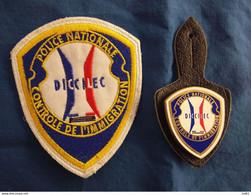 POLICE NATIONALE CONTRÔLE DE L'IMMIGRATION LOT - Police & Gendarmerie