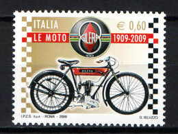 ITALIA - 2009 - MADE IN ITALY: CENTENARIO DELLA MOTO GILERA - MNH - 2001-10: Mint/hinged