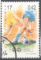 Belgium 1999 Used Football, Soccer, Sport, Turn Of A Century - Usados