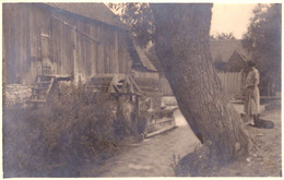 ROMANIA / ROUMANIE : MOULIN À EAU / WATER MILL - CARTE VRAIE PHOTO  / REAL PHOTO [ UNLOCATED ] ~ 1930 - RRR ! (af727) - Rumania