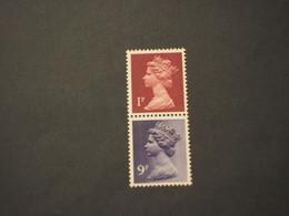 GRAN BRETAGNA - 1970/80  REGINA   1 + 9 P., Uniti   - NUOVI(++) - 1952-.... (Elisabetta II)