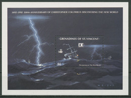 St. Vincent-Grenadinen 1992 Entdeckung Amerikas Block 97 Postfrisch (C95588) - St.Vincent & Grenadines