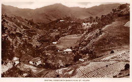 St. Helena, Central Ridges With Diana's Peak - St. Helena
