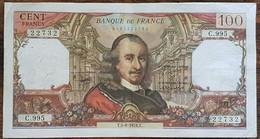 Billet De 100 Francs CORNEILLE 5 - 8 - 1976 FRANCE  C.995 - 1962-1997 ''Francs''