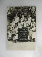CARTE PHOTO - Militaria - Photo De Régiment - Mess Des Officiers - Camp De Coëtquidan - Serveurs Manoeuvres - Regimientos