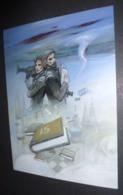 """Affichette """"notre Histoire"""" Bosnie-Herzégovine 1992-1995 - Illustration Enki Bilal - Posters"""