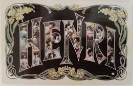 Prenom - HENRI - Prénoms