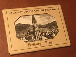 FREIBURG / FRIBOURG Carnet 12 Photos N/B Vintage TBE - Plaatsen