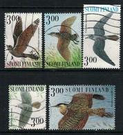 1999 Finland Summer Night Birds Complete Used Set. - Gebraucht