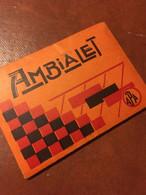AMBIALET Carnet 10 Photos N/B Vintage TBE - Plaatsen