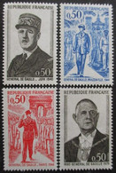 FRANCE Série N°1695 Au 1698 Neuf ** - Unused Stamps